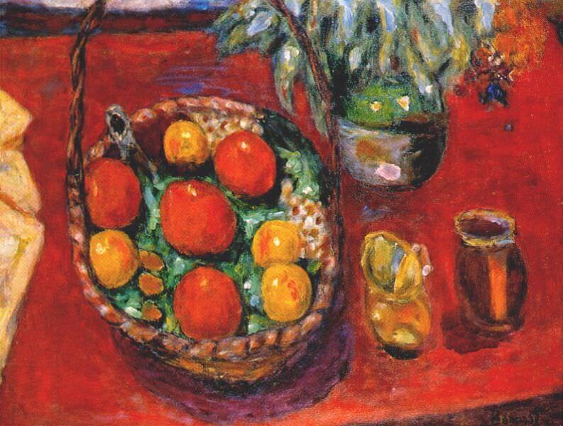 Корзина с фруктами. Пьер Боннар