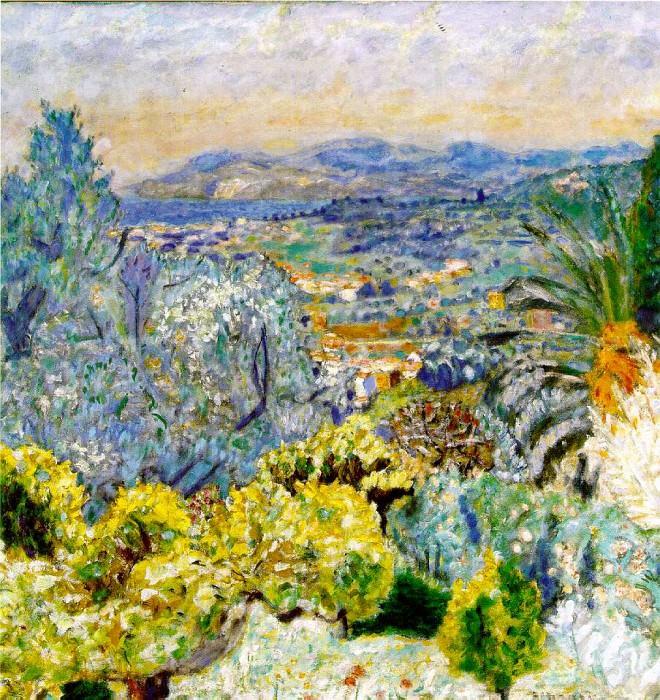 Лазурный берег, ок. 1923. Пьер Боннар