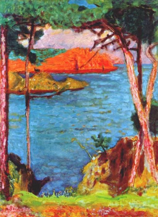 mediterranean coast c1943. Pierre Bonnard