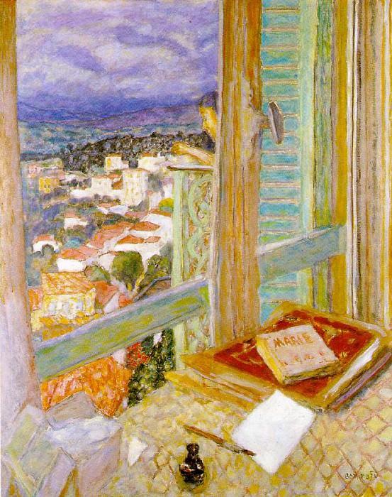 Окно, 1925. Пьер Боннар
