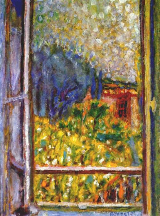 the little window 1946. Pierre Bonnard