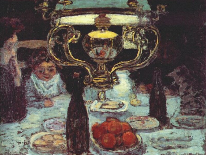 the lamp c1899. Pierre Bonnard