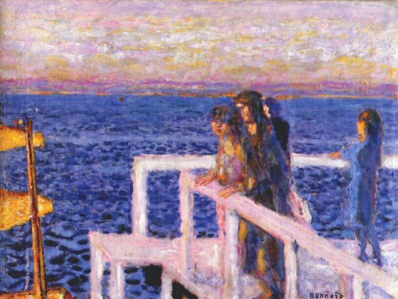 the pier cannes 1928 34. Pierre Bonnard