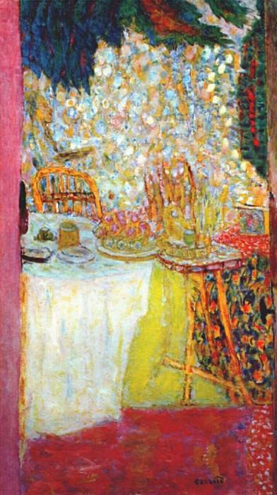 morning the open door c1937. Pierre Bonnard