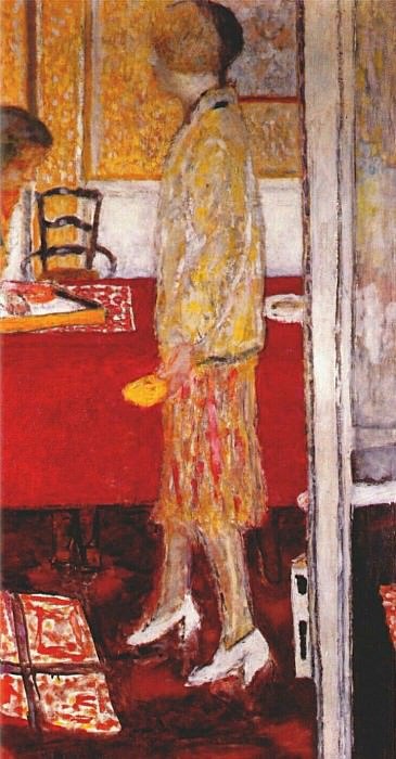 marthe in the dining room 1933. Pierre Bonnard