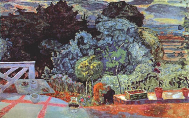 Терраса, 1918. Пьер Боннар