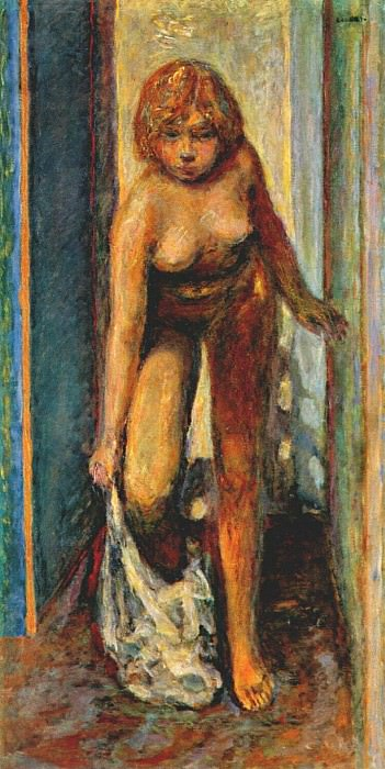 woman undressing c1930. Pierre Bonnard