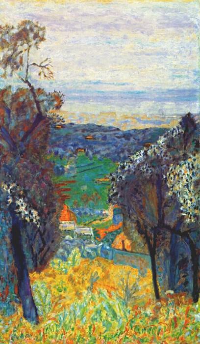 Пейзаж у Ле Канне, 1926. Пьер Боннар