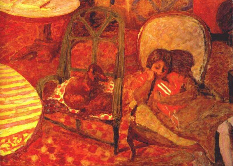 the vigil 1921. Pierre Bonnard