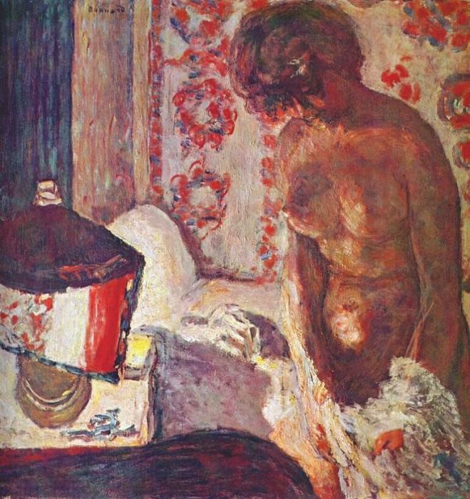 Обнаженная в свете лампы, 1910-11. Пьер Боннар