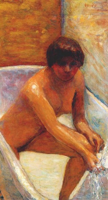 Обнаженная в ванне, 1917. Пьер Боннар