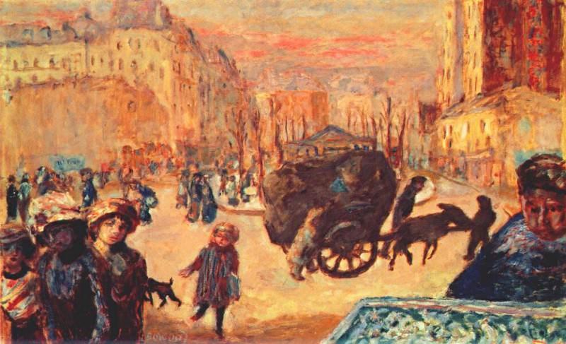 morning in paris 1911. Pierre Bonnard