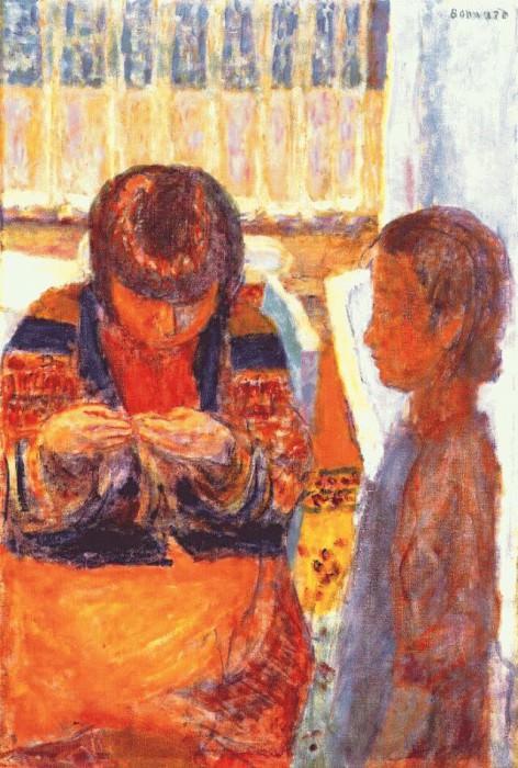 Урок шитья. Пьер Боннар