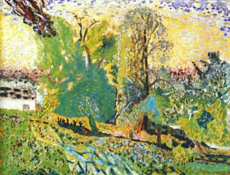 Нормандский пейзаж. Пьер Боннар