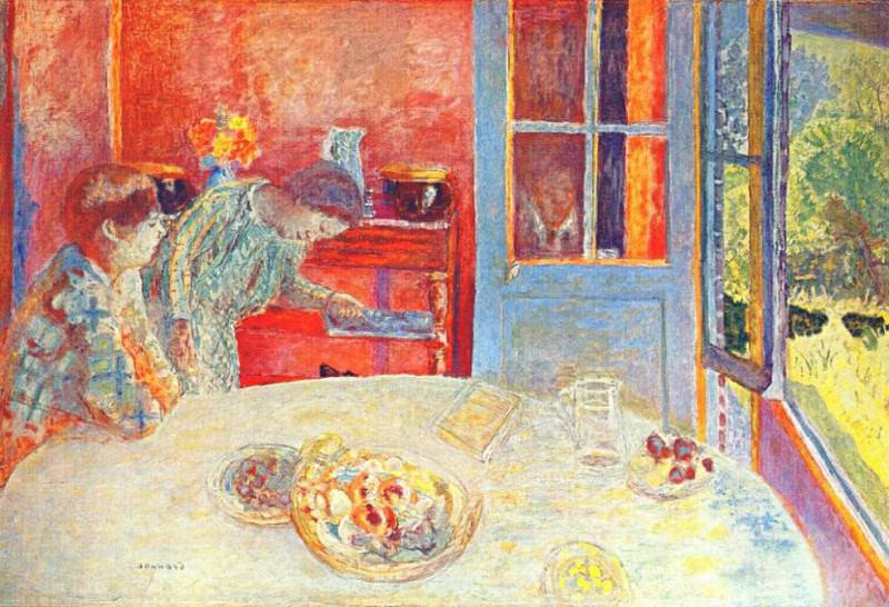 the dining room c1925. Pierre Bonnard
