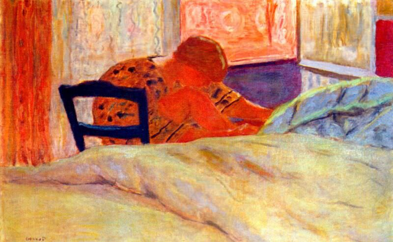 the pedicure 1936. Pierre Bonnard