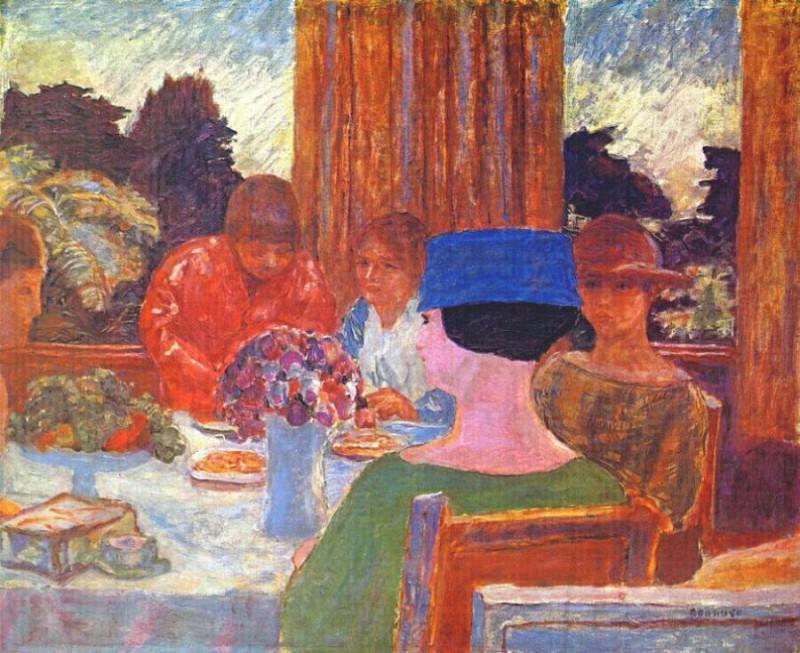 tea 1917. Pierre Bonnard