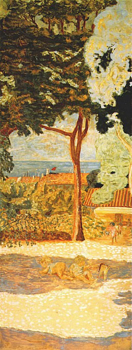 bonnard mediterranean iii center panel. Pierre Bonnard