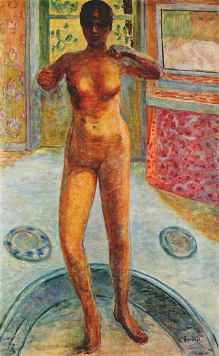 the tub 1920. Pierre Bonnard