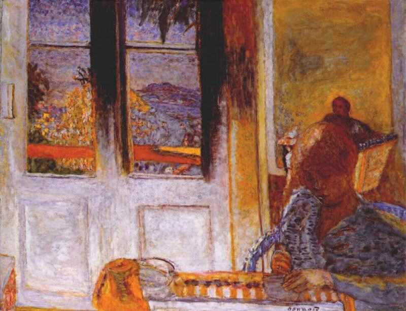 the french window 1932. Pierre Bonnard