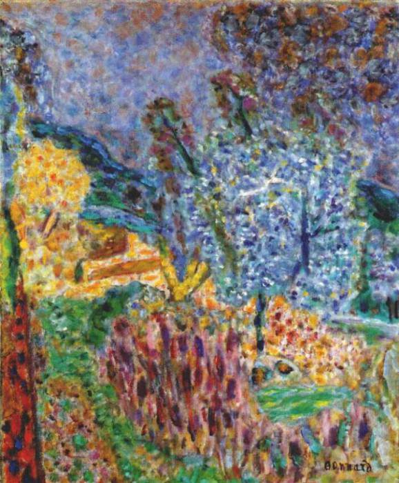the garden 1943. Pierre Bonnard