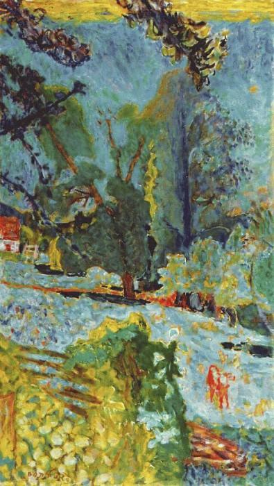 normandy landscape 1920. Pierre Bonnard