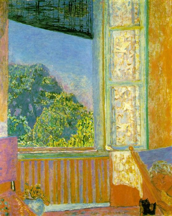 THE WINDOW 1921 THE PHILLIPS COLLECTION, WASHINGTON,. Pierre Bonnard