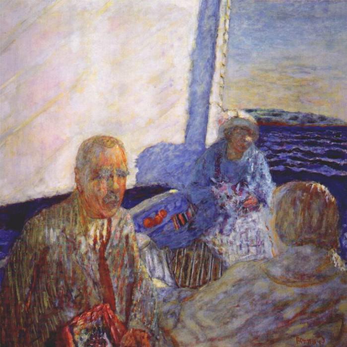 the sailing excursion 1924. Pierre Bonnard