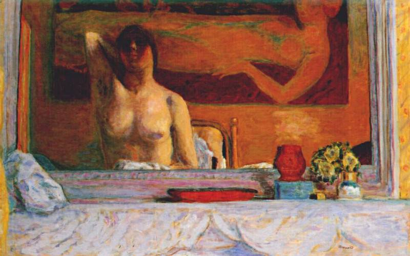 the mantelpiece 1916. Pierre Bonnard