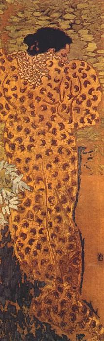 the peignoir c1890. Pierre Bonnard