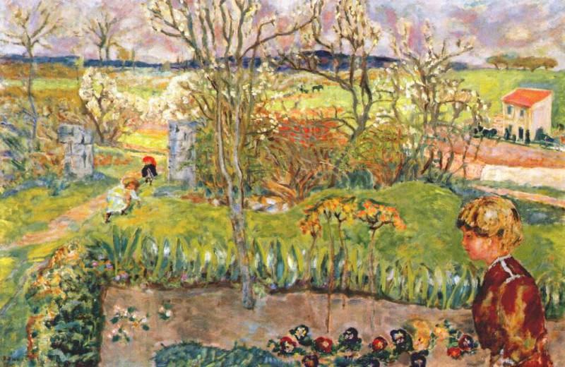 Ранняя весна, 1908. Пьер Боннар