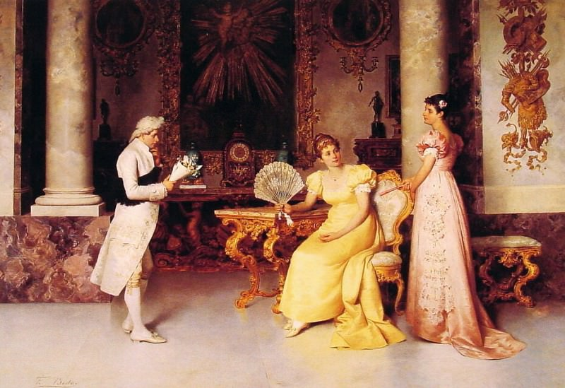 The Suitor. Francesco Beda