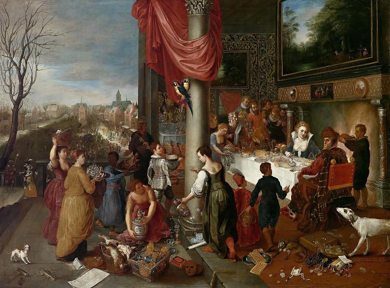 Allegory of Winter. Jan Brueghel The Elder