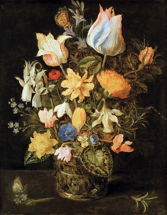 Still Life with Flowers. Jan Brueghel The Elder