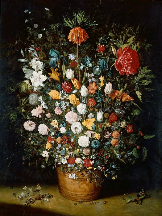 Bouquet of Flowers. Jan Brueghel The Elder