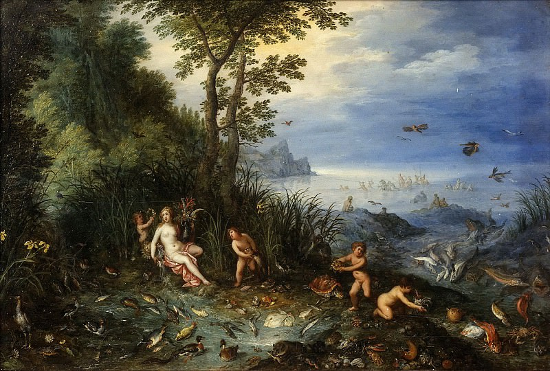 Allegory of Water. Jan Brueghel The Elder