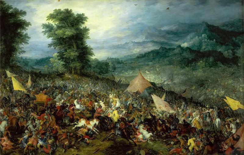 Battle of Issus. Jan Brueghel The Elder