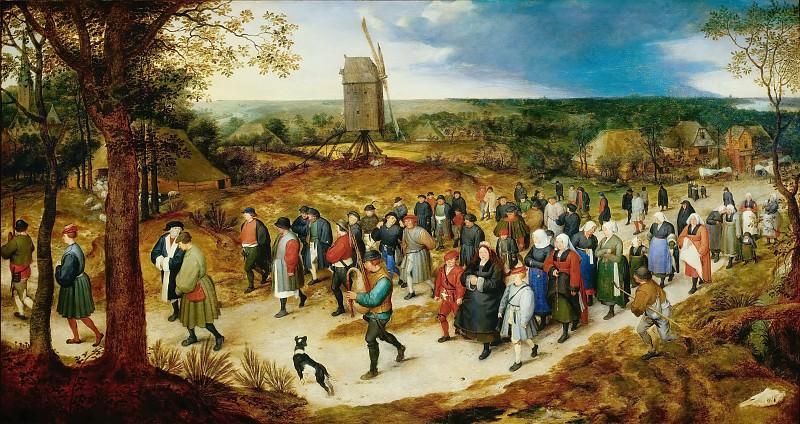 Wedding procession. Jan Brueghel The Elder