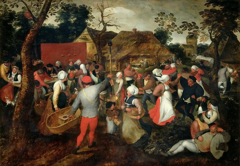 Wedding Dance. Jan Brueghel The Elder