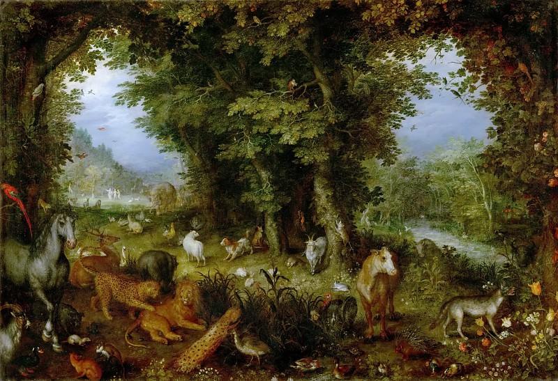 Earthly Paradise. Jan Brueghel The Elder