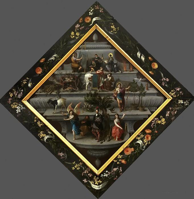 Герб палаты риторики (совместно с другими художниками). Ян Брейгель Старший