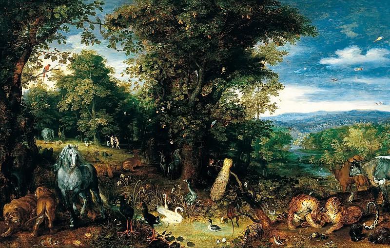 Garden of Eden. Jan Brueghel The Elder