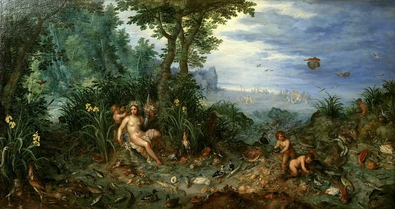 Water. Jan Brueghel The Elder