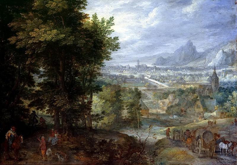 Wooded Landscape. Jan Brueghel The Elder