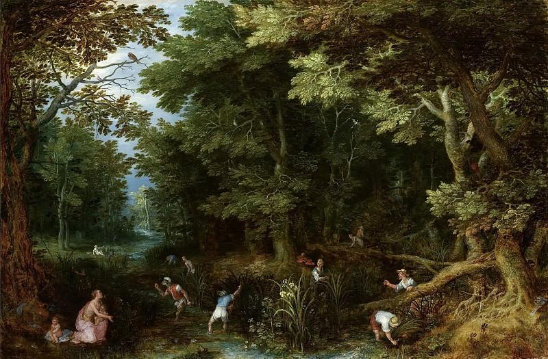 Latona and the Lycian Peasants. Jan Brueghel The Elder