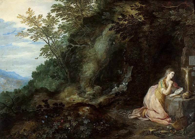 Landscape with Mary Magdalene. Jan Brueghel The Elder