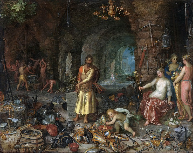 Prophecy of Isaiah. Jan Brueghel The Elder