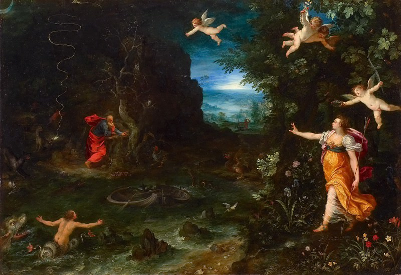 Allegory of Life. Jan Brueghel The Elder