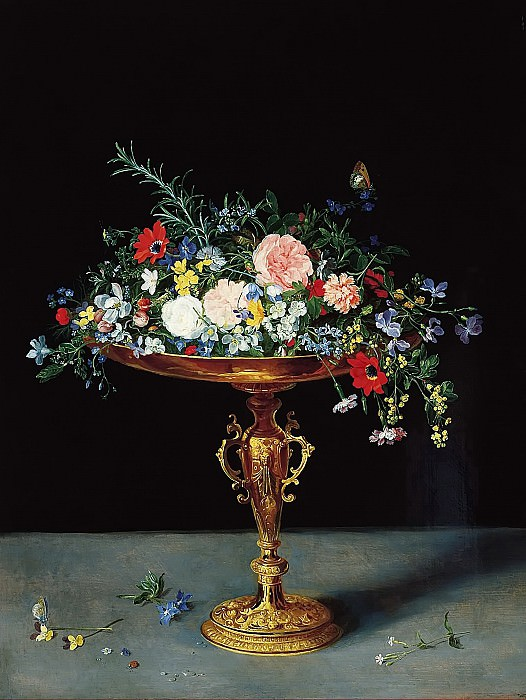 Vase with Flowers. Jan Brueghel The Elder