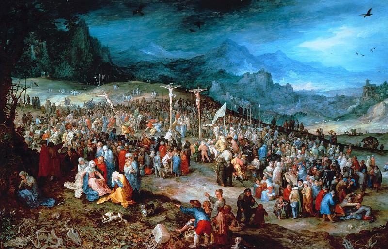 Calvary. Jan Brueghel The Elder